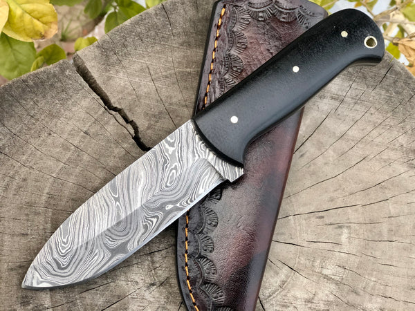 Damascus Steel Camping Knife