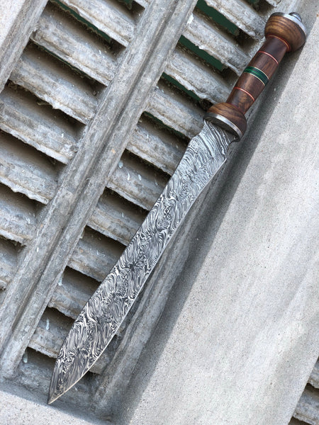 Damascus Steel Gladiator mini Sword