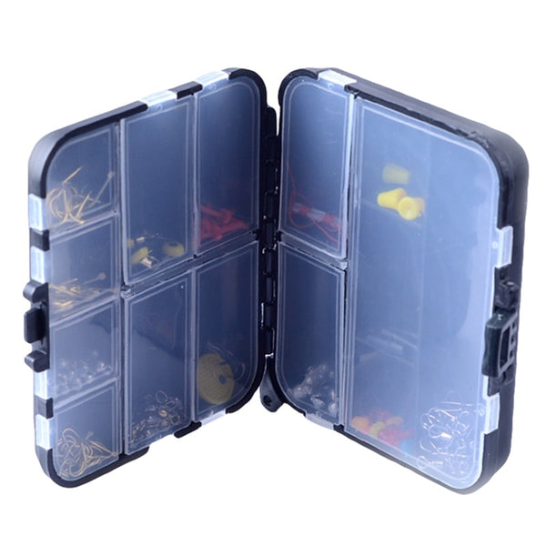 Plastic Fishing Lure Hook Tackle Box Adjustable Portable Storage Case Tackle Multifunctional Organizer Fishing Boxes 5 Styles