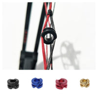 Mounchain 3/16 Hunting View Archery Peep Sight Shot Compound Composite Bow Aluminum 10mm (0.39in) Diameter Hunting Accessories