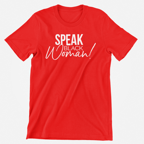Speak Black Woman! Set of 3