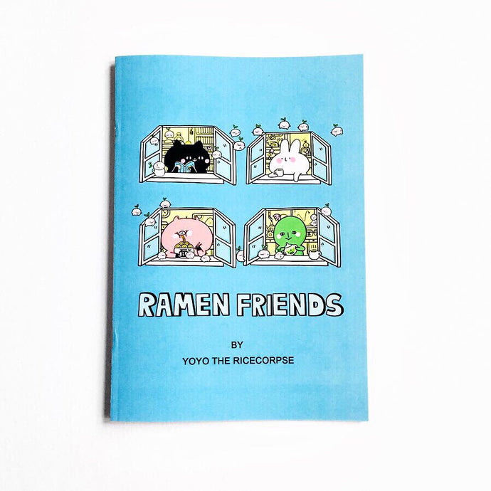 Ramen friends zine (Thought bubble edition)