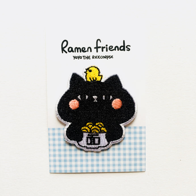 Ramen friends- Naomi iron on patch