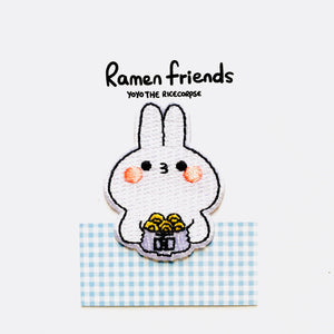 Ramen friends- Thomas White iron on patch