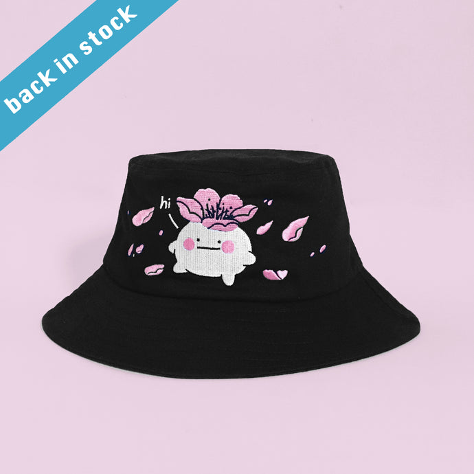 10% OFF Let it bloom bucket hat