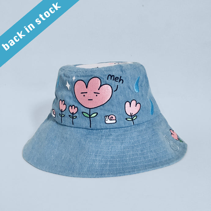 10% OFF Spring rain denim bucket hat