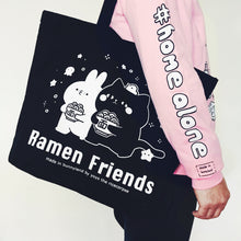 50% OFF Ramen friends -Let's ramen tote bag