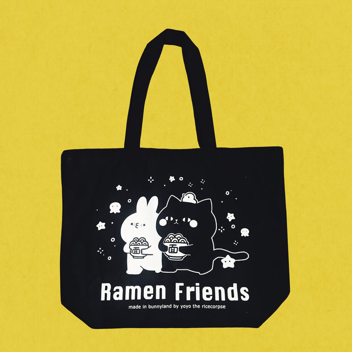 Ramen friends -Let's ramen tote bag