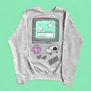 Gameboy sweatshirt