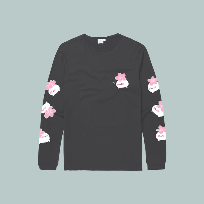 40% OFF GREY | Hibud SAKURA long sleeve tee