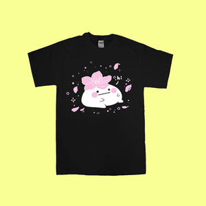 50~65% OFF BLACK | Hibud-SAKURA tee