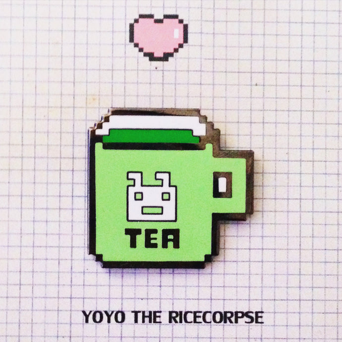 40% OFF Pixel world- TEA pin