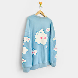 Hibud clouds sweatshirt