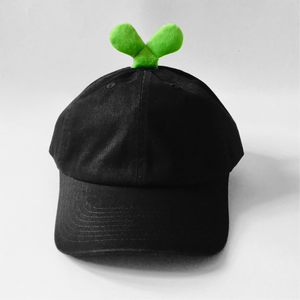 Hibud cap (plain black)