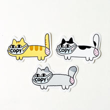 Copycat vs ANTI copycat spray sticker set