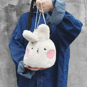 Fluffy TOM drawstring bag