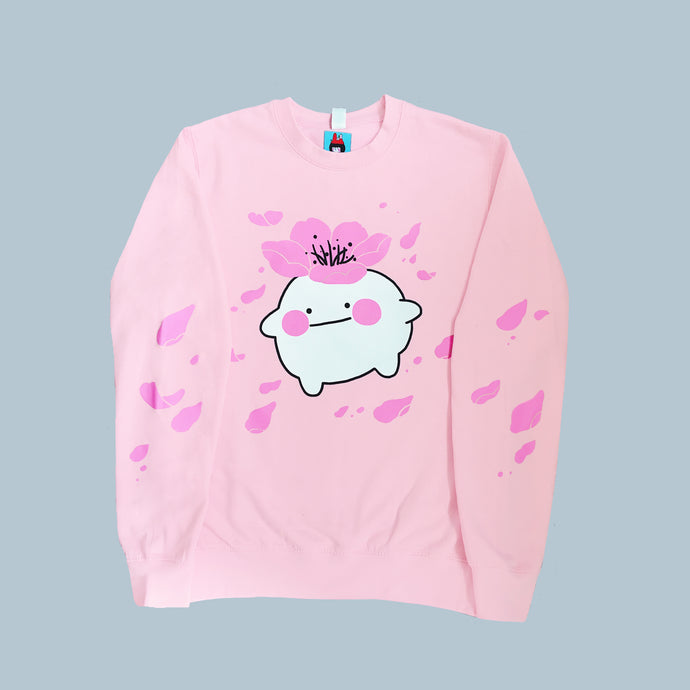 Let it bloom sweatshirt (pink)