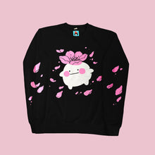 Let it bloom sweatshirt (black)