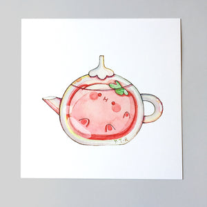 Hibud teapot-Strawberry tea