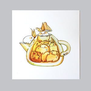 Hibud teapot- Breakfast tea