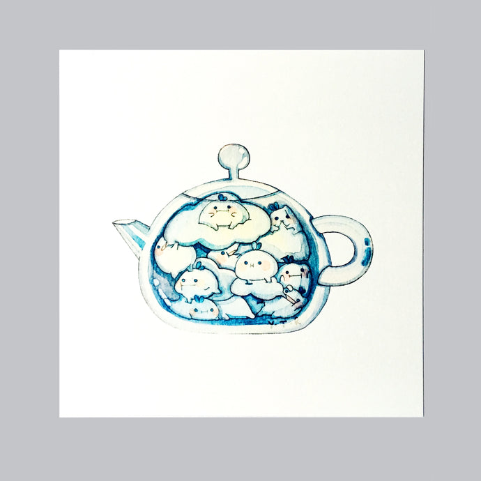 Hibud teapot- Cloud tea