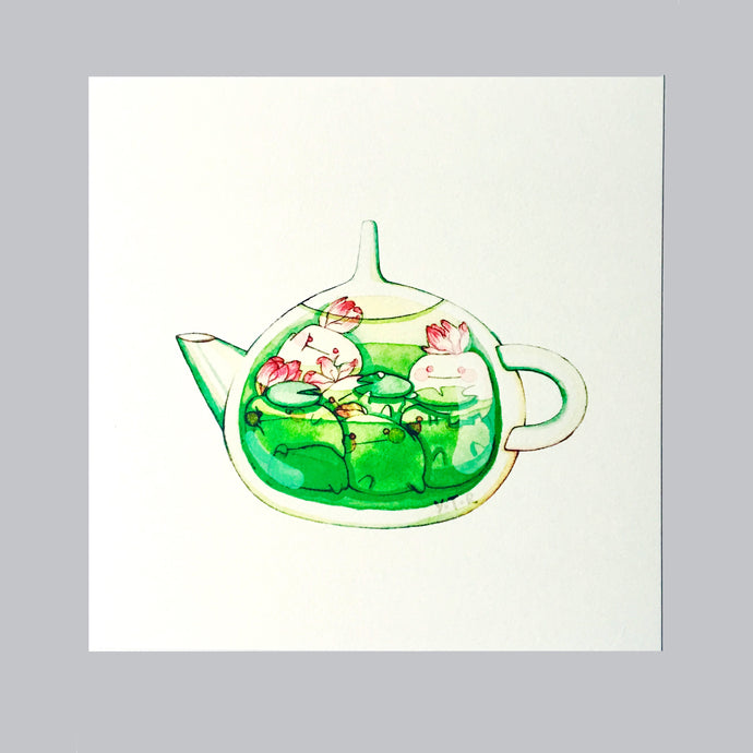 Hibud teapot- Lotus tea