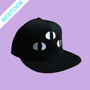 Three-eyed cat snapback