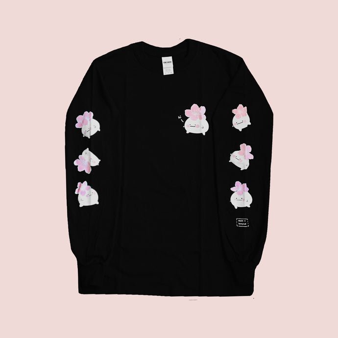 Hibud SAKURA long sleeve tee (black)