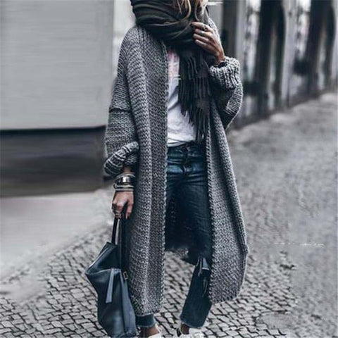 Casual Loose Long-Sleeved Sweater