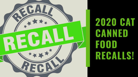2020 pet food recalls