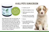 4-ALL PETS SUNSCREEN