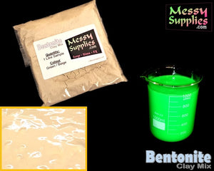 1 Litre 'Sample' Bentonite Clay • 1 Litres • MessySupplies