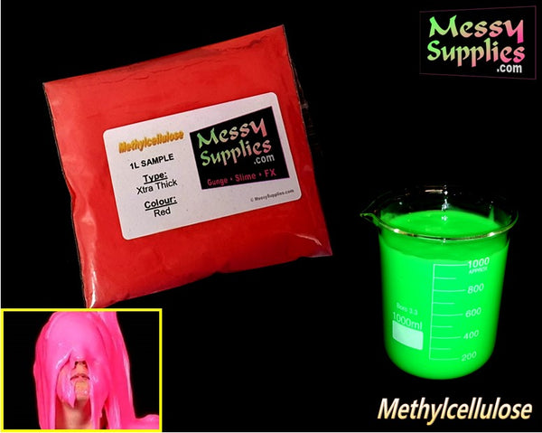 1 Litre 'Sample' Xtra Thick Methylcellulose Gunge • 1 Litres • MessySupplies