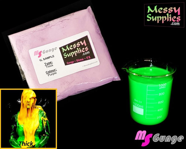 1 Litre 'Sample' Thick MS»Gunge™ • 1 Litres • MessySupplies
