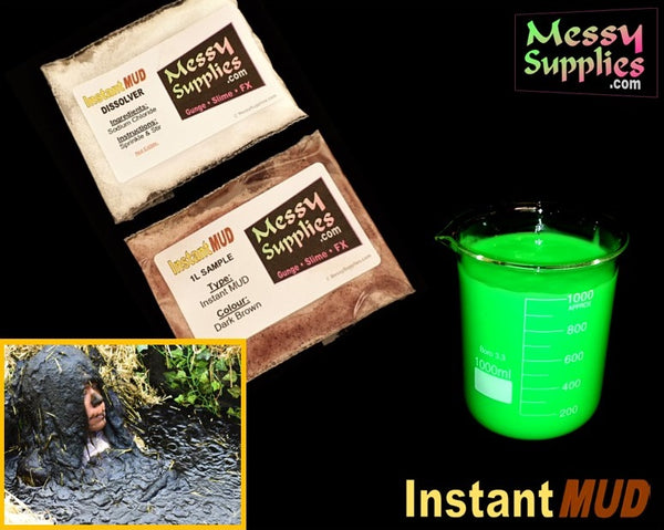 1 Litre 'Sample' Instant MUD™ • 1 Litres • MessySupplies