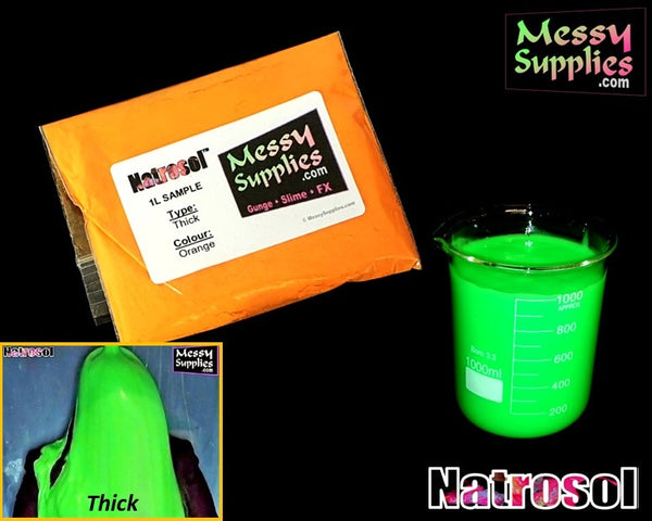 1 Litre 'Sample' Thick Natrosol™ Gunge • 1 Litres • MessySupplies