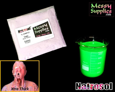 1 Litre 'Sample' Xtra Thick Natrosol™ Gunge • 1 Litres • MessySupplies