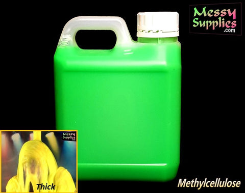 1L 'Sample' Ready Mixed Thick Methylcellulose Gunge • Ready Mixed • MessySupplies