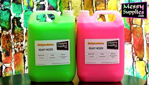 5L Ready Mixed Xtra Thick Methylcellulose Gunge • Ready Mixed • MessySupplies
