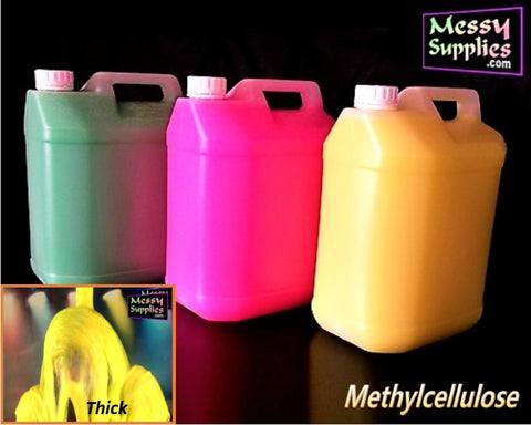 5L Ready Mixed Thick Methylcellulose Gunge • Ready Mixed • MessySupplies