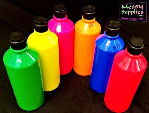 VEC: Liquid Colouring - Fluorescent • Vivid Enhancement Colouring • MessySupplies