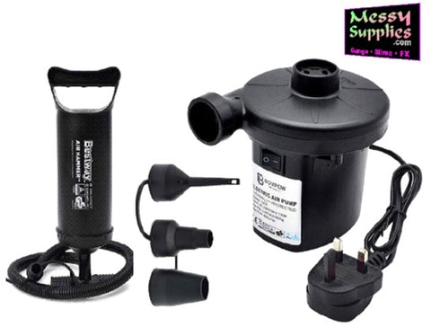 Hand & Electric Pumps • Protection • MessySupplies