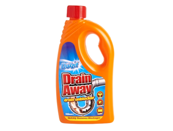 Unblock Drains - Liquid • Clean Up • MessySupplies