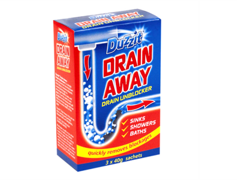 Unblock Drains - Powder • Clean Up • MessySupplies