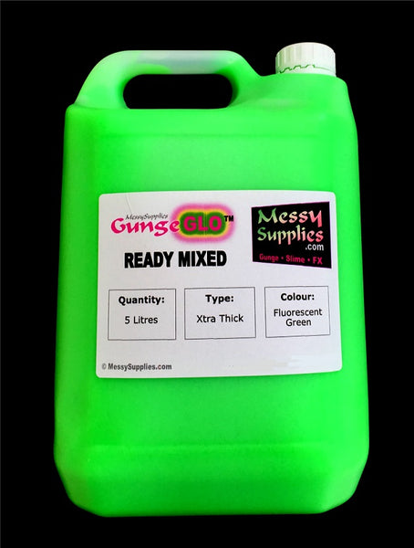 5L Ready Mixed UV GungeGLO™ • Ready Mixed • MessySupplies