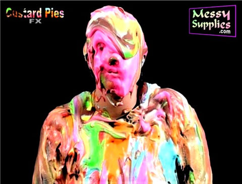 Slosh Custard Pie FX • Pies & Slapstick • MessySupplies