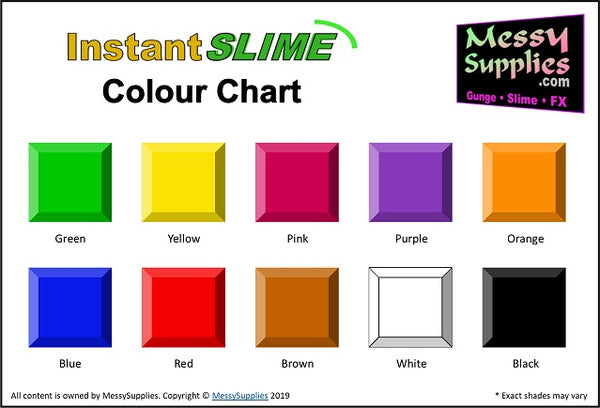 1 Litre 'Sample' Instant SLIME™ • 1 Litres • MessySupplies