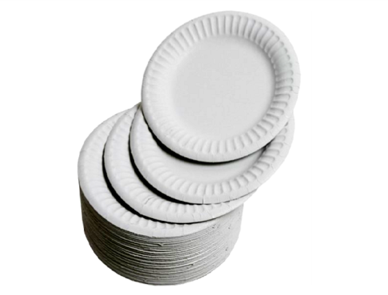 Add On: 10x Paper Plates • Pies & Slapstick • MessySupplies