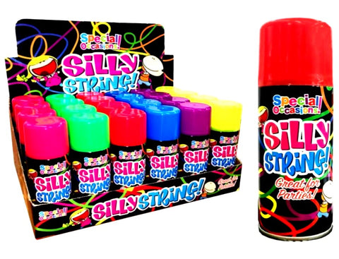 Silly String • Pies & Slapstick • MessySupplies