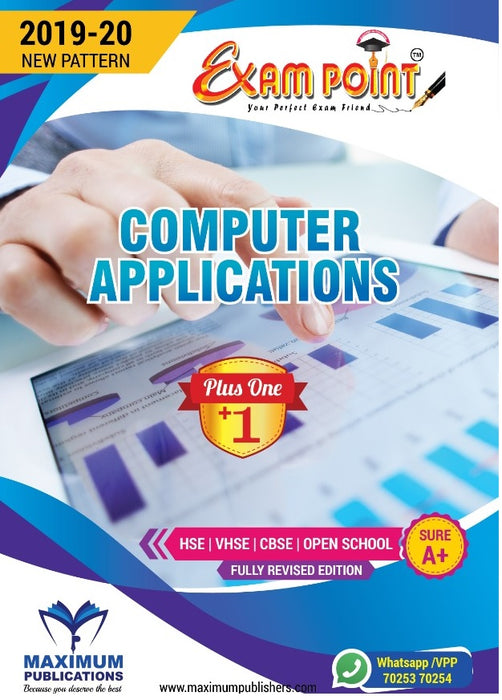 Plus One Computer Application Kerala Syllabus ( HSE , VHSE ,OPEN SCHOOL)